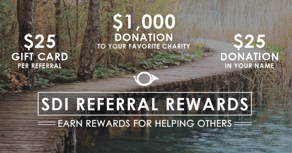 SDI Referral Rewards