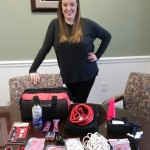 Our Client Relations Professional, Brianna Smith, knows a thing or two about vehicle emergency kits.