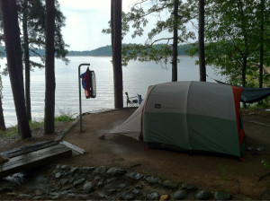 Camping in the Hudson Valley