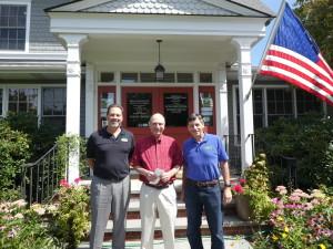 Left to right: Garrett Durland, Jeff Ahearn, Stuart Durland